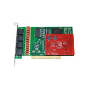 Allo 4 Port PRI Card With Echo Cancellation