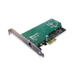 Sangoma 2 Port T1E1J1 PCIe Card With Echo Cancellation