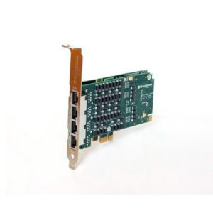 Sangoma 4 Port T1E1J1 PCIe Card With Echo Cancellation